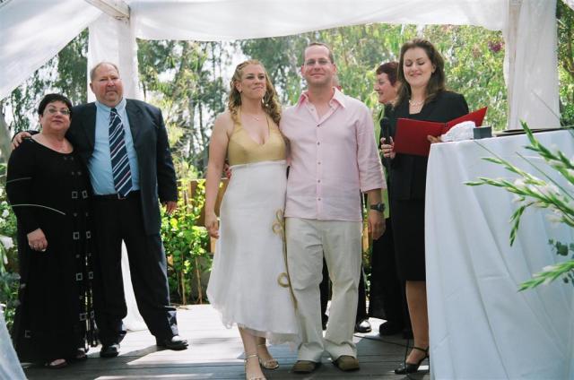 """טקס החתונה שלנו. טקס פרטי ושוויוני של """"משפחה חדשה"""""""